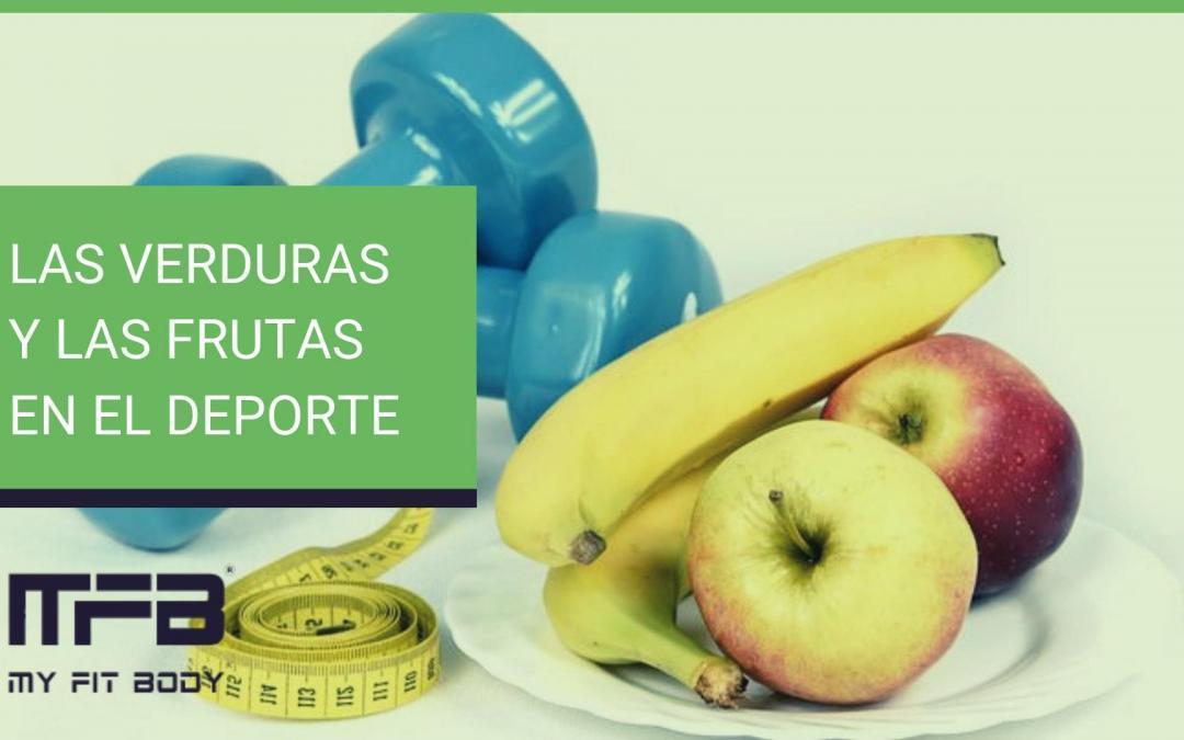 Las verduras y las frutas en el deporte
